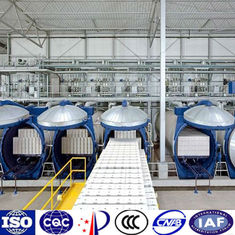 Autoclaved aerated concrete (AAC) making machine