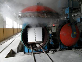 AAC block autoclave for the autoclaved aerated concrete block making plant