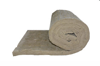 Sound Absorption Rockwool Insulation Blanket Low Thermal Conductivity