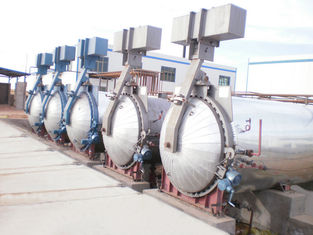 Industrial Concrete Autoclave ? 3.2m / AAC Block Plant To Aerated Concrete Block