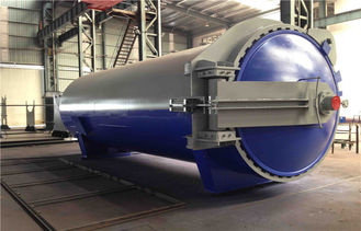 Wood / Rubber / Food Vulcanizing Autoclave Equipment φ2m For Automotive Industrial
