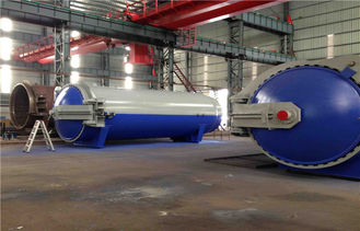 China Pneumatic Laminated Vulcanizing Autoclave , Pressure In Autoclave By PLC Controller supplier