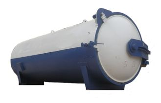 Rubber Laminated Glass Autoclave With Safety Interlock , Automatic Control