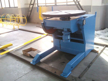 Horizontal Automatic Welding Positioner , 3 Ton Weld Positioner Turing Tables